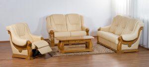 Sedežna garnitura z relax funkcijo