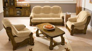 Sedežna garnitura v rustikalnem stilu Dorado